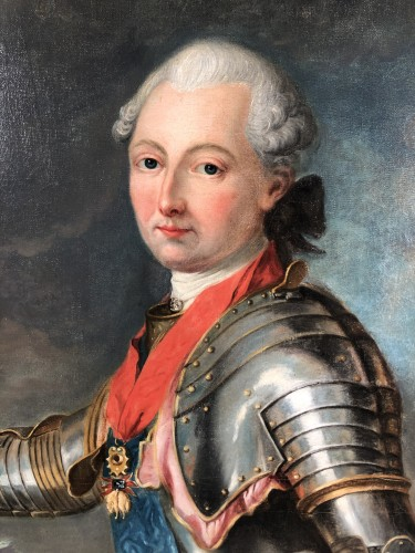 Paintings & Drawings  - Portrait du Duc de Penthièvre, by J.B Charpentier the Elder circa 1780.