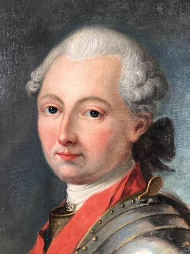 Portrait du Duc de Penthièvre, by J.B Charpentier the Elder circa 1780. -