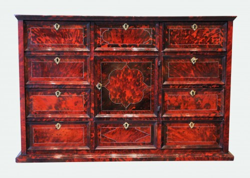 A mid 17th c. Antwerp tortoiseshell cabinet - Furniture Style Louis XIV