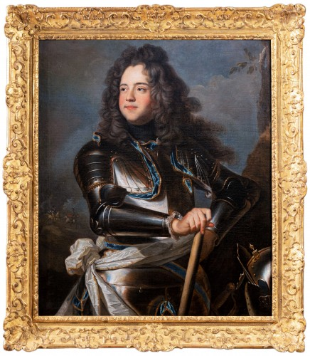 Portrait of Henri-Louis de la Tour d'Auvergne, workshop of Hyacinthe Rigaud