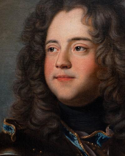 Paintings & Drawings  - Portrait of Henri-Louis de la Tour d'Auvergne, workshop of Hyacinthe Rigaud