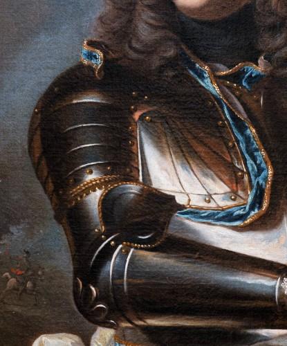 18th century - Portrait of Henri-Louis de la Tour d'Auvergne, workshop of Hyacinthe Rigaud