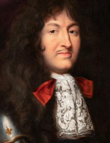 17th century - Portrait of Louis XIV in armor - Pierre Mignard, circa 1680