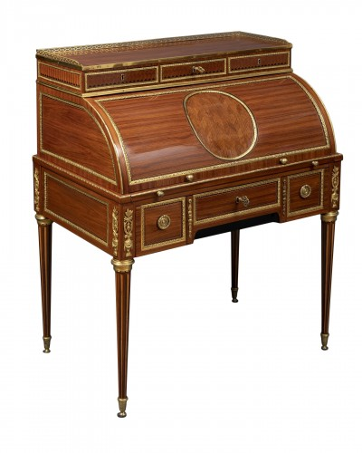 Louis XVI cylinder secretary attributed to F. Bury