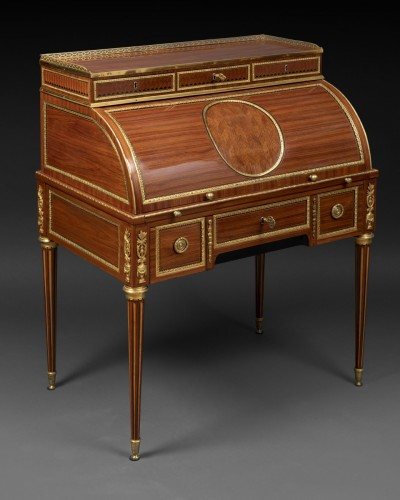 Furniture  - Louis XVI cylinder secretary attributed to F. Bury