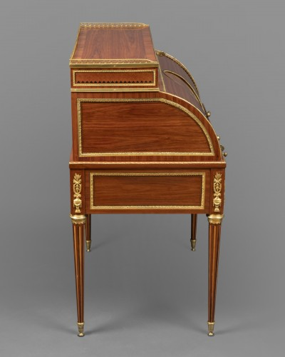 Louis XVI cylinder secretary attributed to F. Bury  -