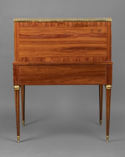 18th century - Louis XVI cylinder secretary attributed to F. Bury