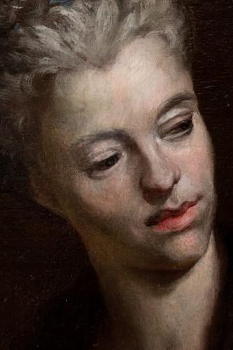Portrait of a woman as Cleopatra, attr. to N. de Largilliere, circa 1720 -