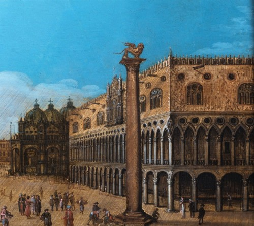 View of piazza San Marco, Venise, attributed to Louis de Caullery -
