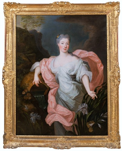Portrait of Princess of Lorraine, Pierre Gobert and workshop, circa 1730