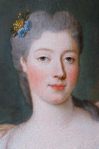 Louis XV - Portrait of Princess of Lorraine, Pierre Gobert and workshop, circa 1730