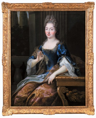 Portrait of Marie-Anne de Bourbon, attributed to François de Troy