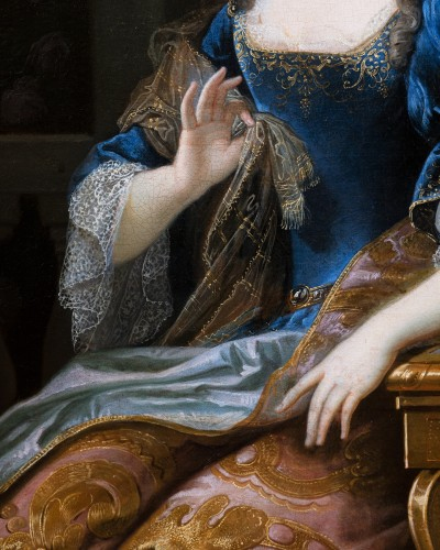 Paintings & Drawings  - Portrait of Marie-Anne de Bourbon, attributed to François de Troy