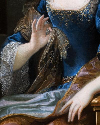 17th century - Portrait of Marie-Anne de Bourbon, attributed to François de Troy
