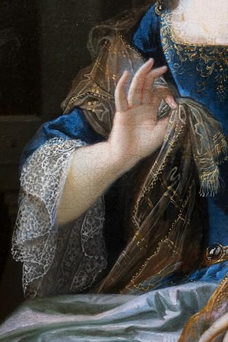 Louis XIV - Portrait of Marie-Anne de Bourbon, attributed to François de Troy