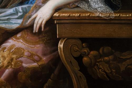 Antiquités - Portrait of Marie-Anne de Bourbon, attributed to François de Troy