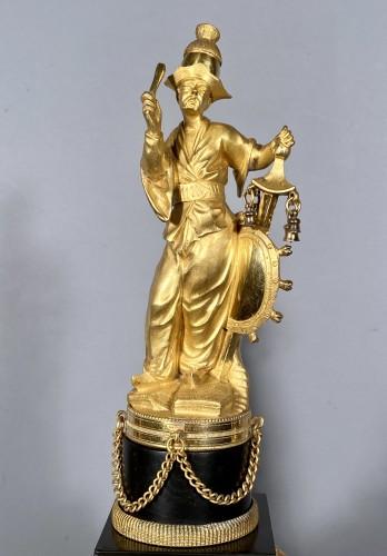 18th Chinese double pagodas clock, Paris, Louis XVI - Horology Style Louis XVI