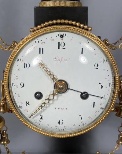 18th Chinese double pagodas clock, Paris, Louis XVI -