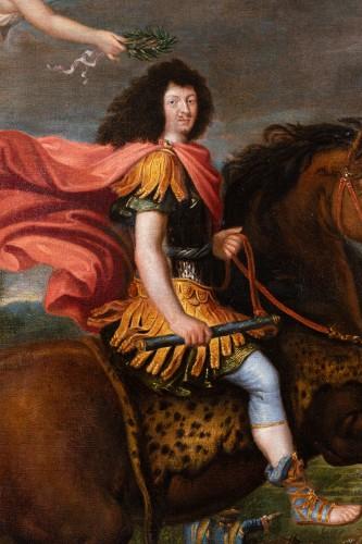 Equestrian portrait of Louis XIV, Pierre Mignard and his workshop -