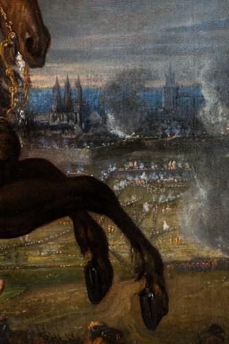 Louis XIV - Equestrian portrait of Louis XIV, Pierre Mignard and his workshop