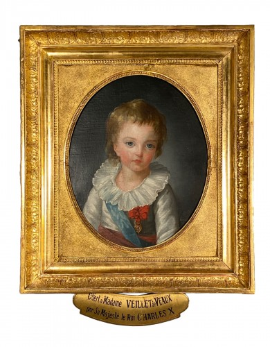 The Dauphin by Marie Guillemine Benoist circa 1784