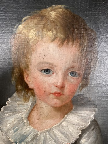 The Dauphin by Marie Guillemine Benoist circa 1784 - Paintings & Drawings Style Louis XVI