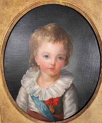 Louis XVI - The Dauphin by Marie Guillemine Benoist circa 1784