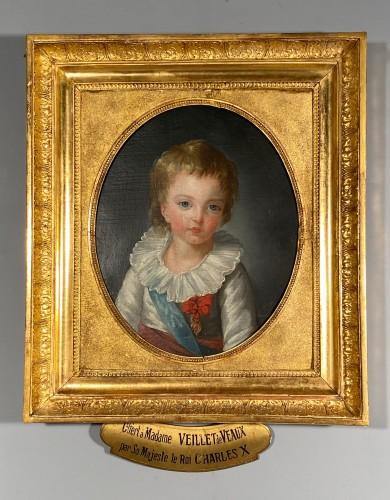 Antiquités - The Dauphin by Marie Guillemine Benoist circa 1784