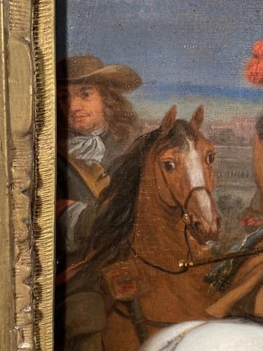 Louis XIV in front of Kortrijk,  Van der Meulen studio circa 1667 - Louis XIV