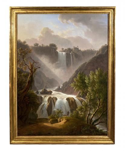 The Marmores waterfall, Martin Verstappen circa 1810