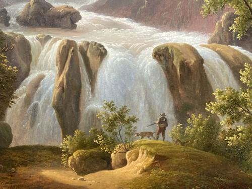 The Marmores waterfall, Martin Verstappen circa 1810 -