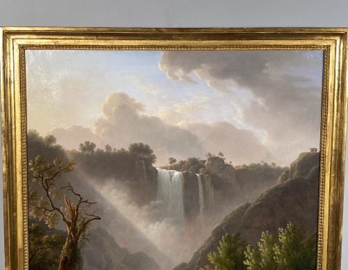 The Marmores waterfall, Martin Verstappen circa 1810 - Empire