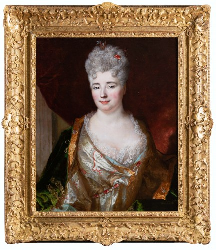 Portrait of a lady, Nicolas de Largilliere, signed and dated 1712
