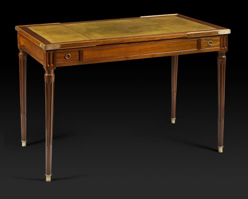 "Furniture  - Louis XVI period game table, called ""tric trac"", stamped by Fidelys SCHEY"
