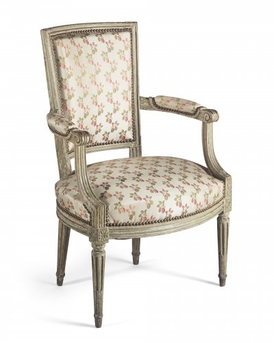Paire of armchairs, France, Louis XVI period - Seating Style Louis XVI