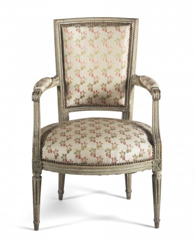 Seating  - Paire of armchairs, France, Louis XVI period