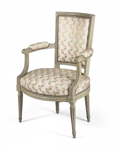 18th century - Paire of armchairs, France, Louis XVI period