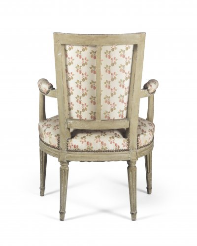 Louis XVI - Paire of armchairs, France, Louis XVI period