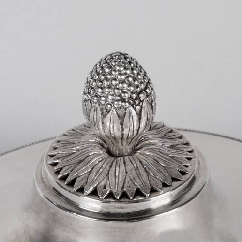 Antique Silver  - Antique French Sterling Silver Vegetable Dish, by MASSON, Paris 1798-1809
