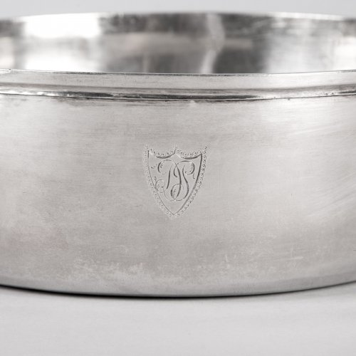 19th century - Antique French Sterling Silver Vegetable Dish, by MASSON, Paris 1798-1809