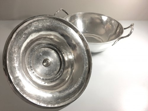 Antique Silver  - Antique French Sterling Silver Vegetable Dish, by Béchard (Orléans 1782-84)