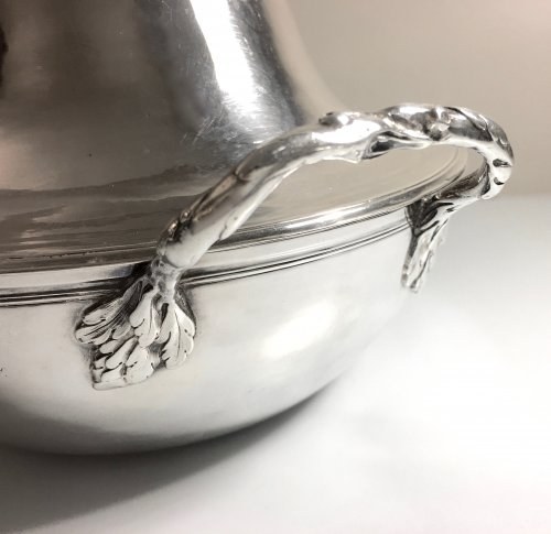 Antique French Sterling Silver Vegetable Dish, by Béchard (Orléans 1782-84) - Louis XVI