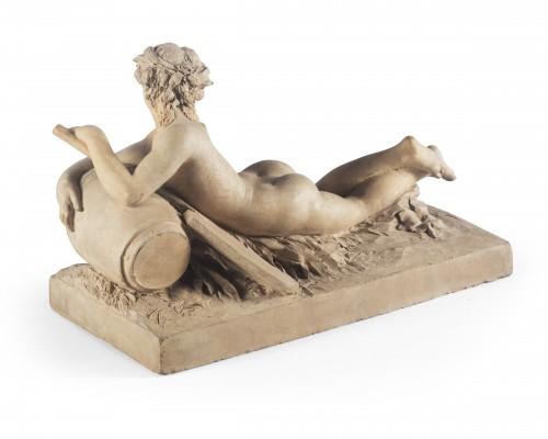 Sculpture  - Allegory - attributed to Pierre-Joseph Michel  (1737-1812)