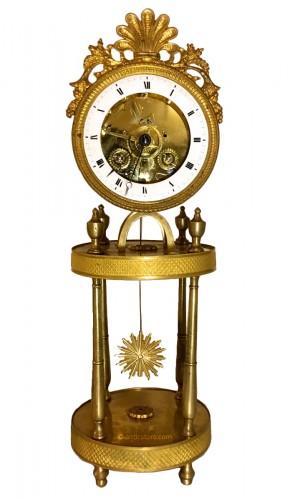Skeleton clock, Directoire period (1795-1803)