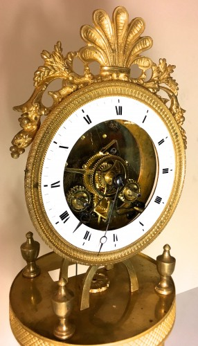 Skeleton clock, Directoire period (1795-1803) - Clocks Style Directoire
