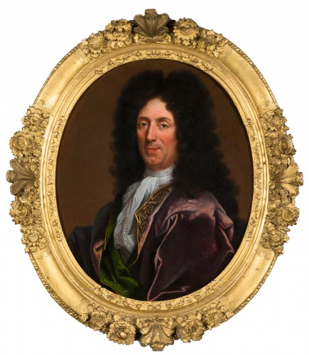 Portrait of a man - French School of the 17th century