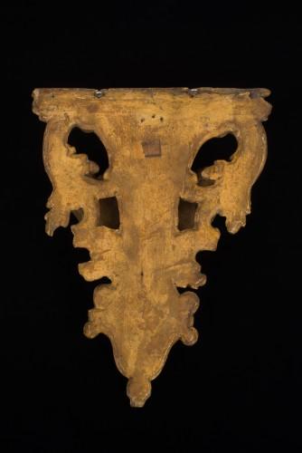Gilded wall bracket, Italy, early 18th century -