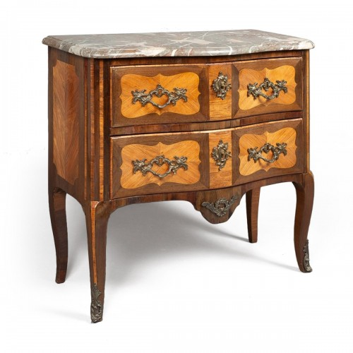 Transition commode stamped M. CRIAERD or CRIARD, middle of 18th century