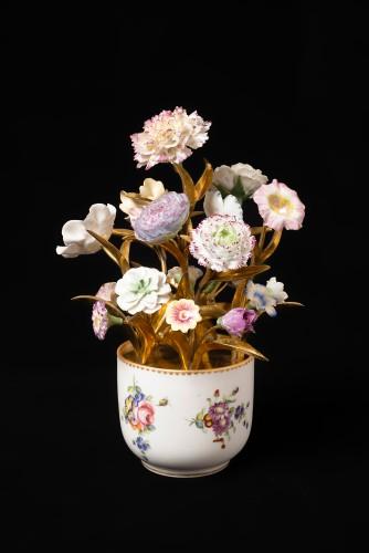 Sèvres, bouquet of porcelain flowers - Decorative Objects Style Louis XVI