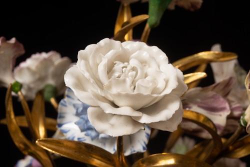 Sèvres, bouquet of porcelain flowers - Louis XVI